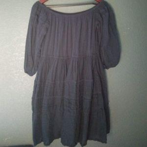 Free People Dark Blue Dress